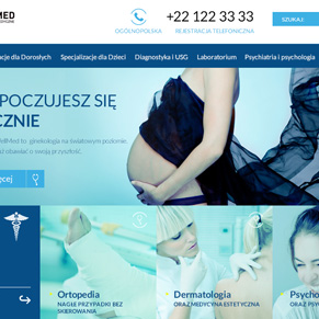medical website